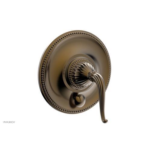 GEORGIAN & BARCELONA Pressure Balance Shower Plate with Diverter and Handle Trim Set PB2141TO - Antique Brass