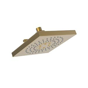 Satin Gold - PVD Luxnetic Multifunction Showerhead