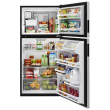 View Product - 30-inch Wide Top Freezer Refrigerator - 18 cu. ft. Fingerprint Resistant Stainless Steel