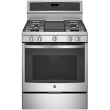 """View Product - GE Profile™ 30"""" Free-Standing Gas Convection Range"""