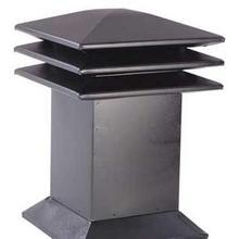 Attic ventilator for flat roofs