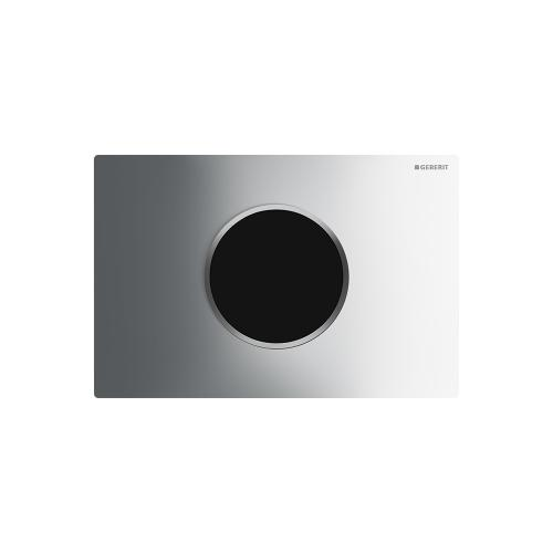 Sigma10 Flush plates for Sigma series in-wall toilet systems Polished chrome with matte chrome accent Finish 2x6 in-wall system Compatibility