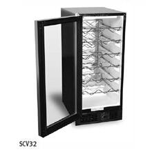 "15"" Undercounter Wine Storage Unit - Stainless Steel"