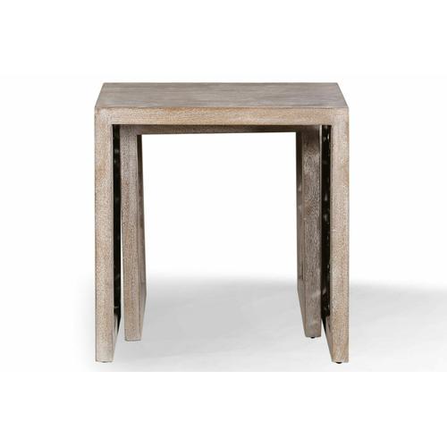 CROSSINGS EDEN Chairside Nesting Table