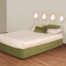 See Details - Queen Boxspring Cover Bella Moss (Cover Only)