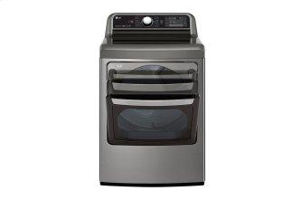 7.3 CU.FT. Turbosteam Dryer With Easyload Dual-opening Door