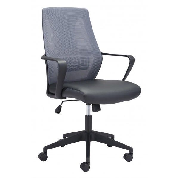 Skyrise Office Chair Gray & Black