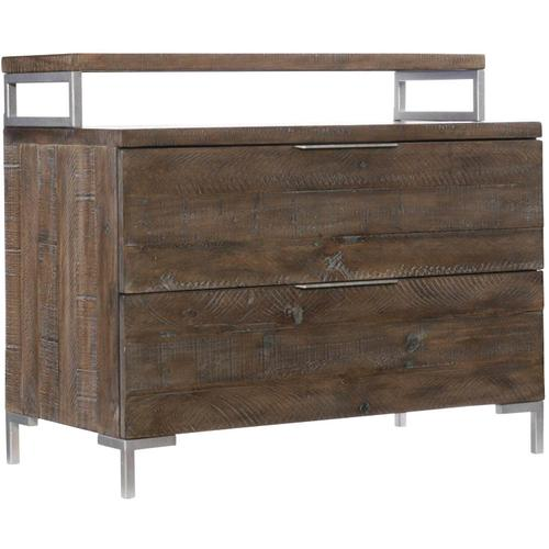 Haines Bachelor's Chest in Sable Brown, Gray Mist