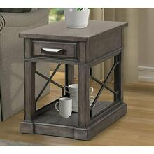 View Product - SUNDANCE - SMOKEY GREY Chairside Table