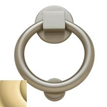 Non-Lacquered Brass Ring Knocker