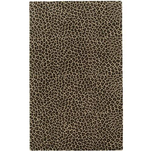 Safari-Leopard Brown Hand Tufted Rugs