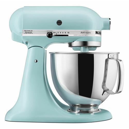 KitchenAid - Artisan® Series 5 Quart Tilt-Head Stand Mixer - Mineral Water Blue