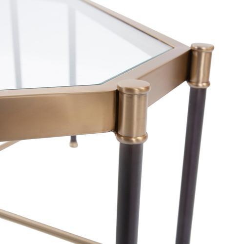 Howard Elliott - Graham Brushed Brass Coffee Table