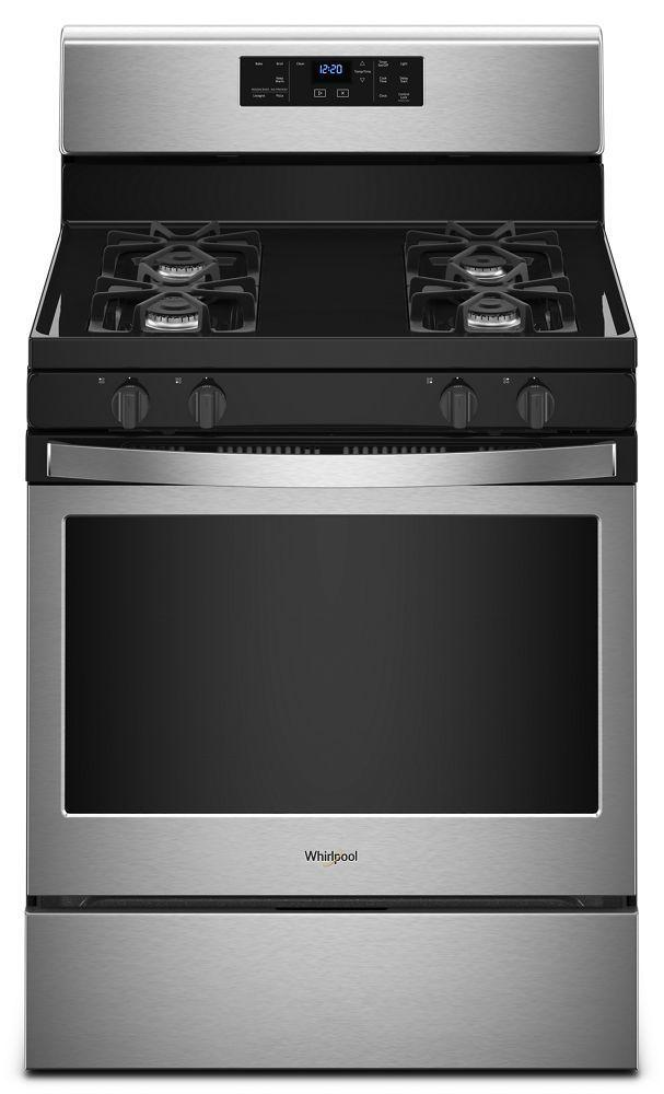 Whirlpool5.0 Cu. Ft. Freestanding Gas Range With Adjustable Self-Cleaning