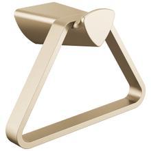 Champagne Bronze Triangular Towel Holder