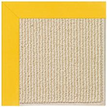 "Creative Concepts-Beach Sisal Canvas Sunflower Yellow - Rectangle - 24"" x 36"""