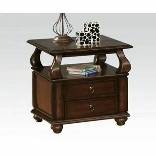 ACME Amado End Table - 80012 - Walnut