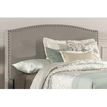 Kerstein Fabric Headboard - Full - Headboard Frame Not Included - Dove Gray