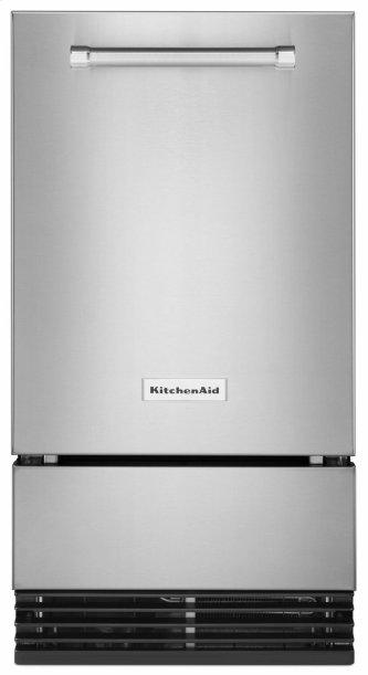 18'' Automatic Ice Maker with PrintShield™ Finish - Stainless Steel with PrintShield™ Finish