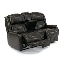 Marcus Power Reclining Loveseat with Console