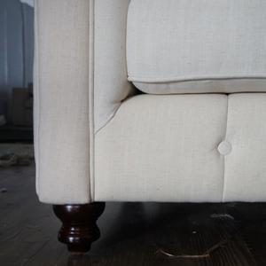 Haston 3 Seater Tuffted Back Sofa
