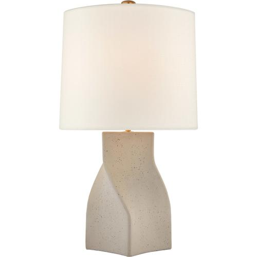 AERIN Claribel 31 inch 100 watt Canyon Gray Table Lamp Portable Light, Large