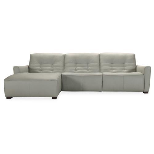 Hooker Furniture - Reaux Power Motion Sofa w/ LAF Chaise w/2 Power Recline