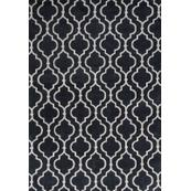 """Allure 4067 Charcoal Fiore 2'3"""" X 7'6"""" Runner"""