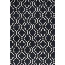 "Allure 4067 Charcoal Fiore 2'3"" X 7'6"" Runner"
