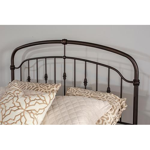 Pearson Queen Bed, Oiled Bronze