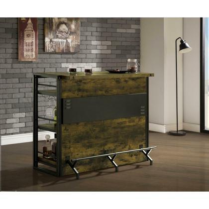 See Details - Industrial Antique Nutmeg Bar Unit
