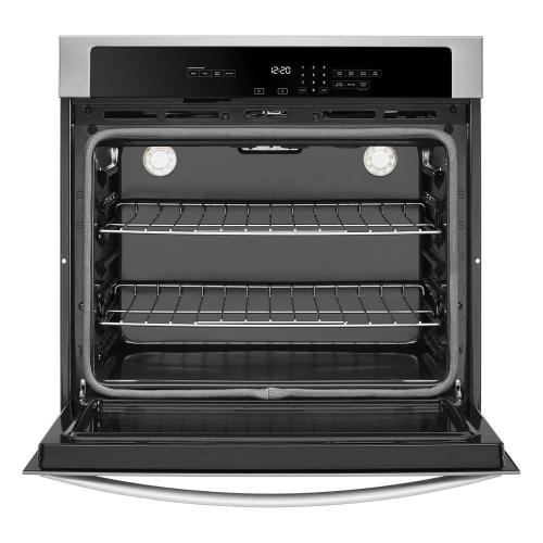 [CLEARANCE] 4.3 cu. ft. Single Wall Oven with the FIT system. Clearance stock is sold on a first-come, first-served basis. Please call (717)299-5641 for product condition and availability.