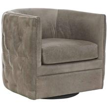 Palazzo Leather Swivel Chair