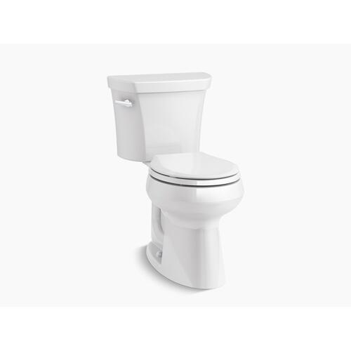 Black Black Two-piece Round-front 1.28 Gpf Chair Height Toilet