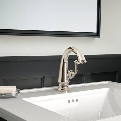 American Standard - Delancey Single-Handle Faucet - Side Handle  American Standard - Polished Nickel
