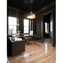 See Details - Modrest Alaska Black Oak Office Desk