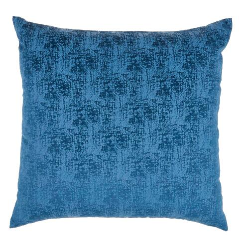 "Life Styles Et438 Navy 22"" X 22"" Throw Pillow"
