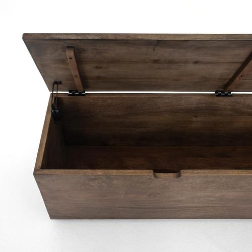 Aged Brown Finish Duncan Trunk