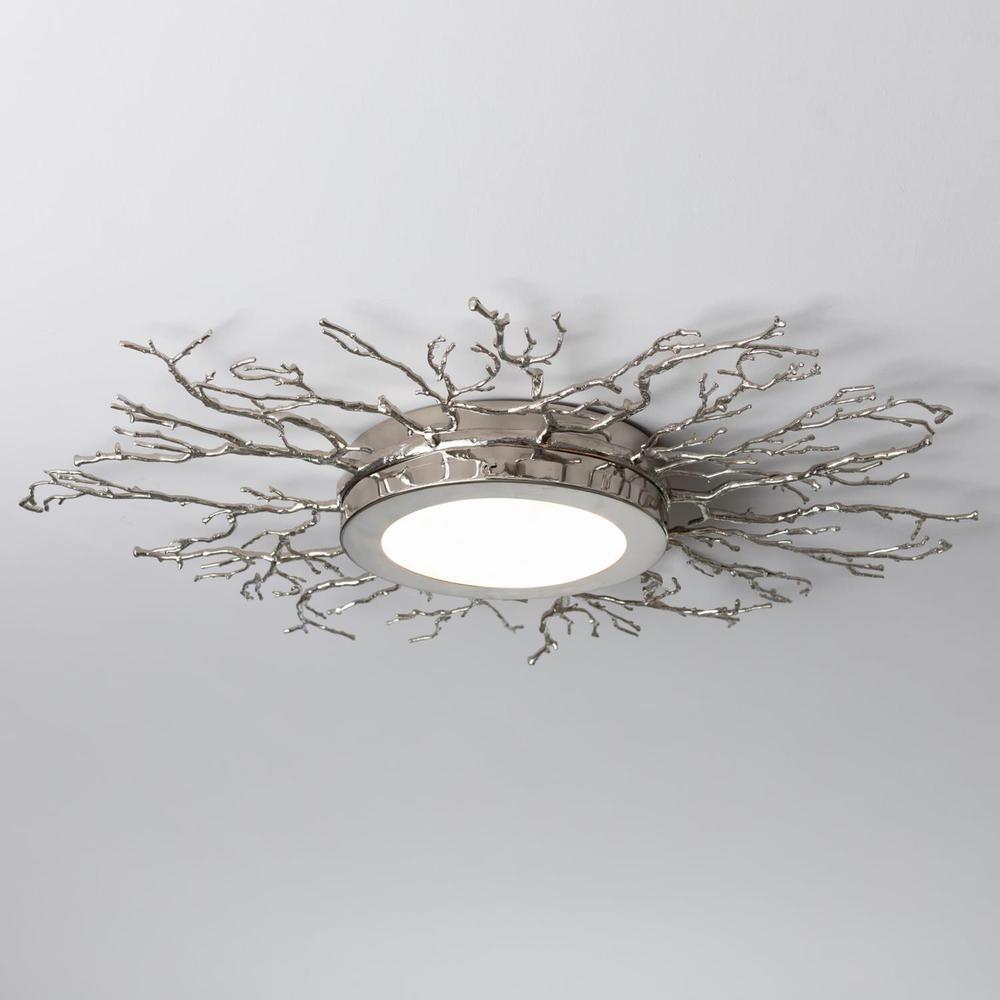 See Details - Twig Ceiling Fixture-Nickel