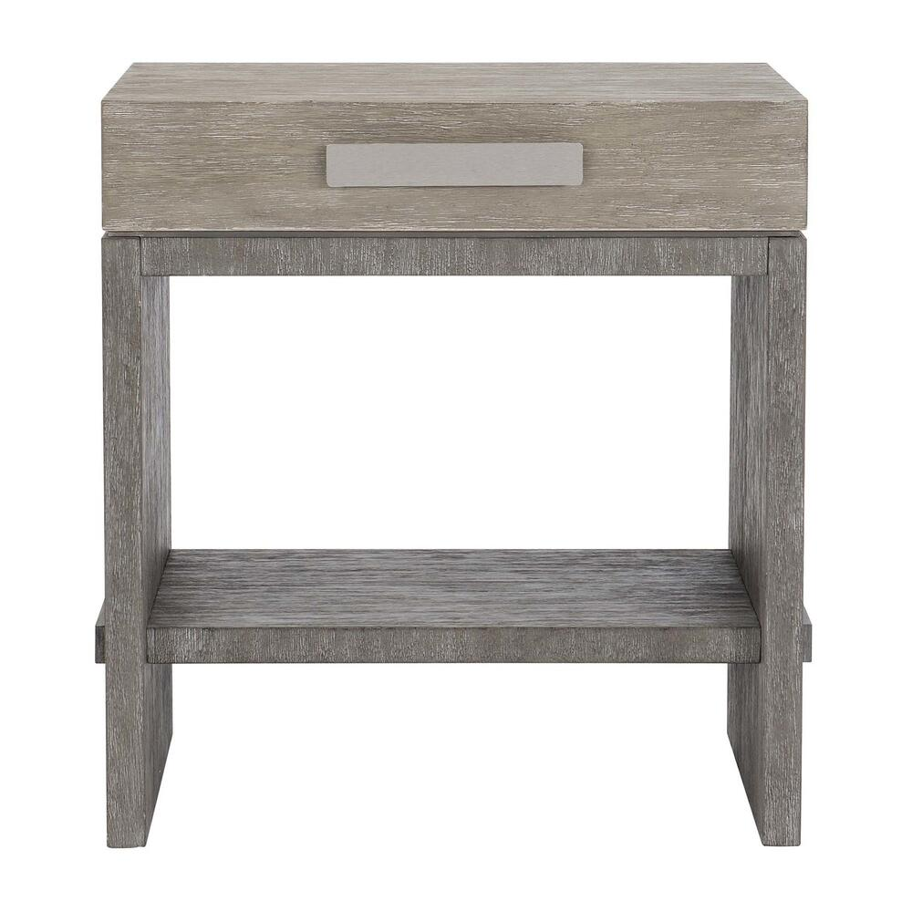 See Details - Foundations Nightstand in Light Shale (306)