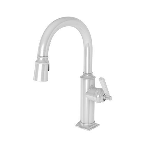Newport Brass - White Prep/Bar Pull Down Faucet