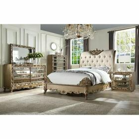 ACME Orianne Chest - 23796 - Antique Gold