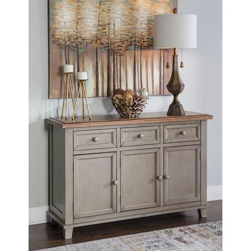 Gallery - Buffet in Hickory & Stone