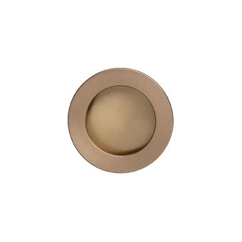 Modern Cup Pull in US4 (Satin Brass, Lacquered)