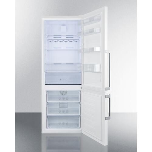 Frost-free Energy Star Certified Bottom Freezer Refrigerator In White With Digital Controls; Replaces Ffbf280wx