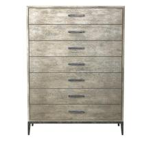 Cameron Drawer Chest - Raw Silk