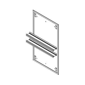 "Profiles 23-1/4"" X 40"" X 15/16"" Mirror Ganging Kit for A Seamless Transition With Profiles Cabinets and Profiles Lighting (depth Is 4-11/16"" When Surface-mounted) Product Image"