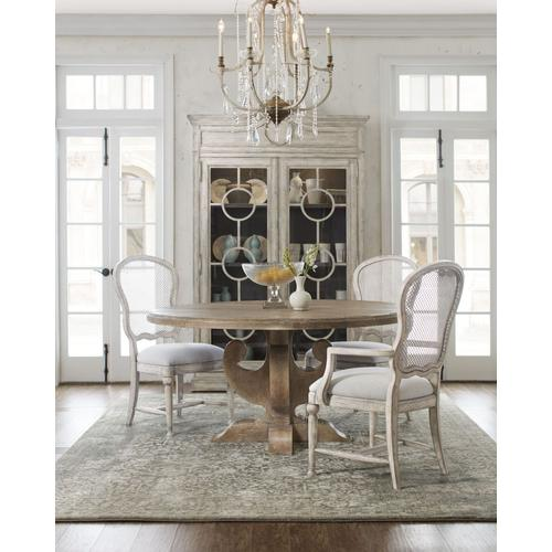 Dining Room Boheme Ascension 60in Wood Round Dining Table