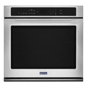 MAYTAG27-Inch Wide Single Wall Oven With True Convection - 4.3 Cu. Ft.
