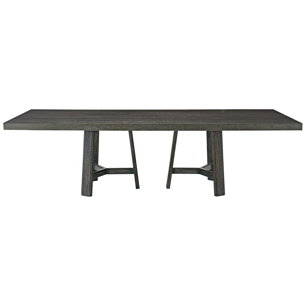 "Colworth Rectangular Dining Table (106"") in Black Truffle"